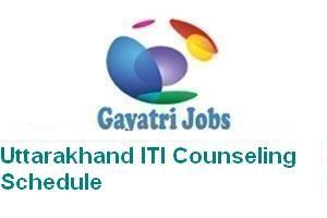 Uttarakhand ITI Counseling Schedule