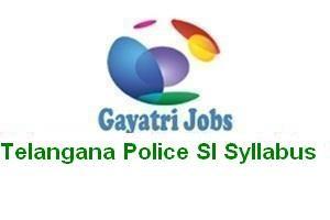 Telangana Police SI Syllabus