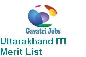 Uttarakhand ITI Merit List