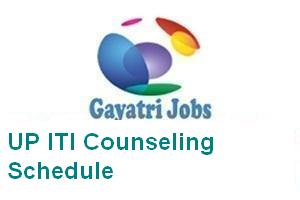 UP ITI Counseling Schedule