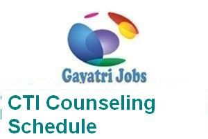 CTI Counseling Schedule