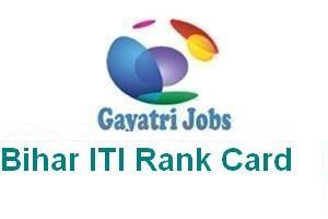 Bihar ITI Rank Card