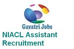 NIACL Assistant Recruitment