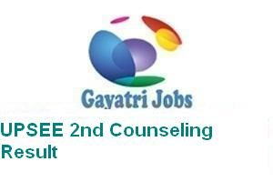 UPSEE 2nd Counseling Result