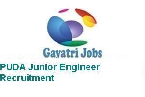 PUDA Junior Engineer Recruitment