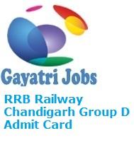 group d admit card download 2018 chandigarh