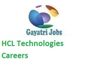 HCL Technologies Careers 2018-19 for Fresher's Candidates- Apply