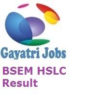 BSEM HSLC Result