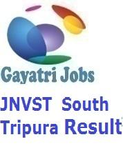 JNVST South Tripura Result