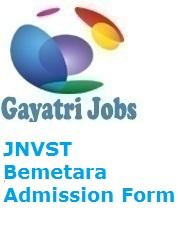 JNVST Bemetara Admission Form
