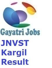 JNVST Kargil Result