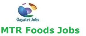 MTR Foods Jobs