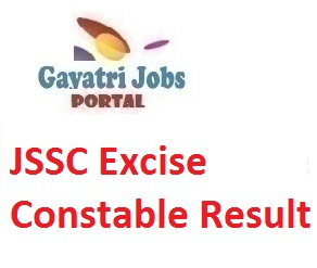 JSSC Excise Constable Result