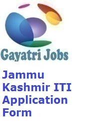 Jammu Kashmir ITI Application Form
