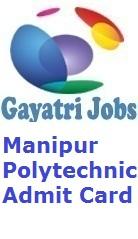 Manipur Polytechnic Admit Card
