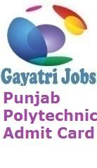 Punjab Polytechnic Admit Card