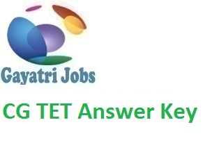 CG TET Answer Key