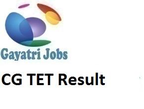 CG TET Result