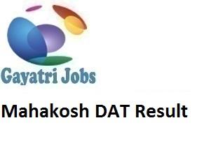 Mahakosh Dat Result 2019 Declare Lekha Lipik Kanishth