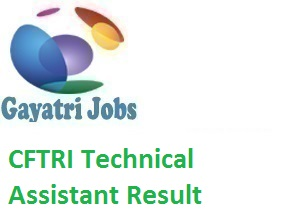 CFTRI Technical Assistant Result