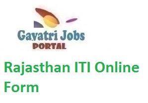 Rajasthan ITI Online Form