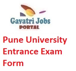 Pune University Entrance Exam Form
