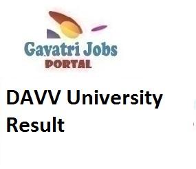 DAVV University Result