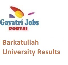 Barkatullah University Results
