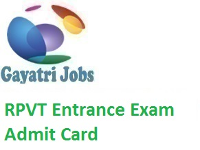 PVT Entrance Exam Admit Card