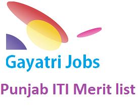 Punjab ITI Merit list