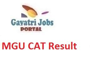 MGU CAT Result
