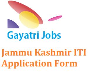 Jammu Kashmir ITI Application Form
