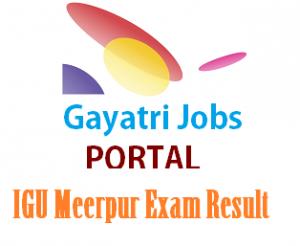 IGU Meerpur Exam Result