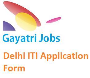 Delhi ITI Application Form