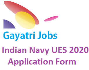 Indian Navy UES 2020 Application Form