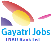 TNAU Rank List 2019 UG PG PDF Download