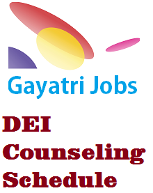 DEI Counseling Schedule